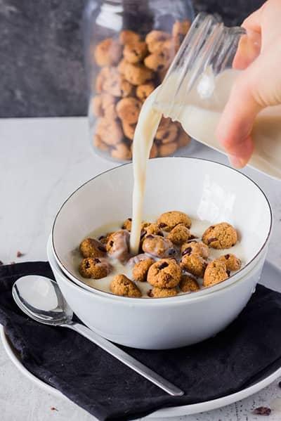Dispensador de cereales pared