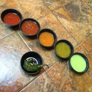 dispensador de salsas