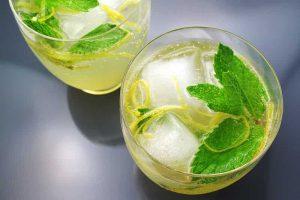 frasco dispensador de limonada